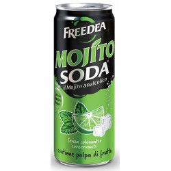 Mojito soda lattina cl.33
