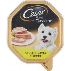 Cesar vaschetta paté pollo tacchino - gr.150