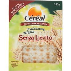 Céréal Senza Lievito Pane Croccante Integrale gr.180