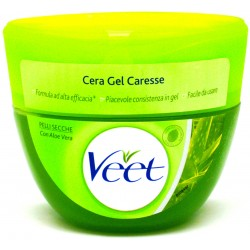 Veet cera gel caresse secche ml.250