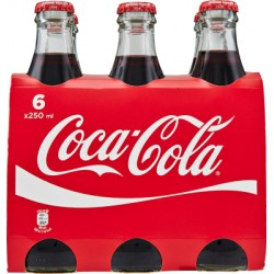 Cocacola vetro cl.25 cluster x6