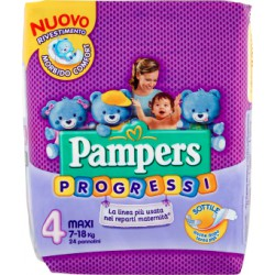 Pampers progressi maxi x24