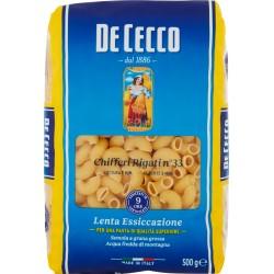 De Cecco Chifferi Rigati n° 33 500 gr.
