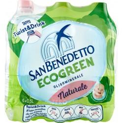 S.benedetto acqua naturale - ml.500 cluster x6