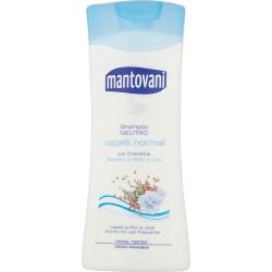 Mantovani Shampoo Neutro capelli normali Estratto di Semi di Lino 400 ml.