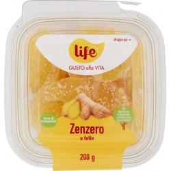 Life zenzero a fette disidratato gr.200