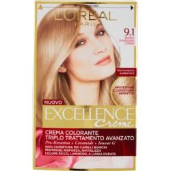 Oreal excellence n.9,1 Biondo chiarissimo cenere