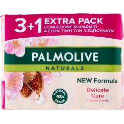 Palmolive Naturals Delicate Care Sapone da Toilette 4 x 90 gr.