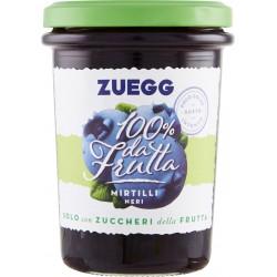 Zuegg confettura senza zucchero mirtilli - gr.250