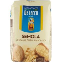 Le Macinate De Cecco farina Semola di Grano Duro Rimacinata 1 kg.