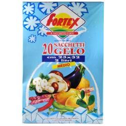 Fortex europe sacchetti gelo cm.23x32pz. x20