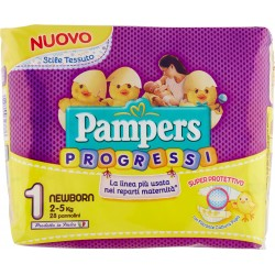 Pampers Progressi Newborn x28 kg.2-5