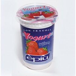 E'piu' yogurt fragola gr.500