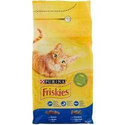 Friskies crocchette per gatti tonno verdure - kg.2