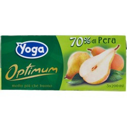 Yoga optimum succo pera cl. 20 cluster x3