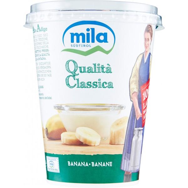 Mila yogurt banana gr.400