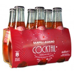 San Pellegrino cocktail rosso cl.20 cluster x6