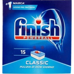 Finish powerball classico x15
