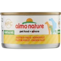 Almo nature cane filetti pollo lattina - gr.95