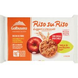 Galbusera RisosuRiso Biscotto con Cereali, Riso e Frutta 240 gr.