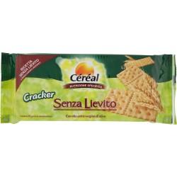 Céréal Senza Lievito Cracker con olio extra vergine di oliva gr.250
