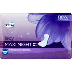 Tena lady maxi night x 12