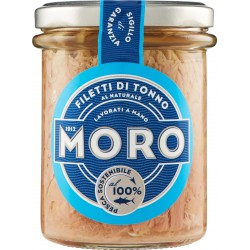 Moro filetti tonno naturale - gr.190