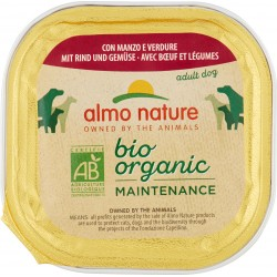 Almo nature bio pate cane manzo verdure gr.100