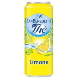 San Benedetto the limone lattina sleek cl.33
