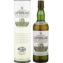 Laphroaig Quarter Cask Islay single malt scotch whisky 70 cl.