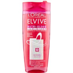 Elvive Nutri-Gloss Luminizer Shampoo ultra-illuminante capelli spenti, opachi, senza luce 250 ml.