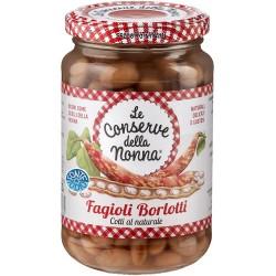 Le conserve della Nonna fagioli borlotti - gr.360
