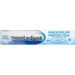 Mentadent dentifricio. maximum white 75