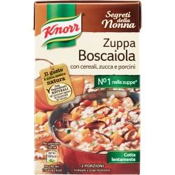 Knorr Segreti della Nonna Zuppa Boscaiola con cereali, zucca e porcini brik 500 ml.