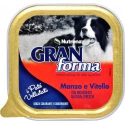 Nutrena Gran Forma patè per Cane manzo e vitello gr.150