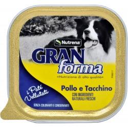 Nutrena Gran Forma patè per Cane pollo e tacchino gr.150