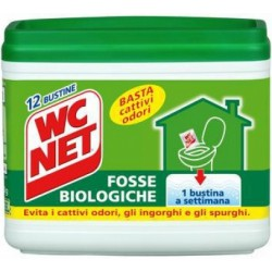 Wc net fosse biologiche buste x12