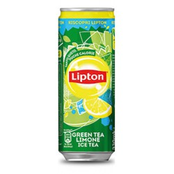 Lipton ice tea verde latt. sleek cl.33