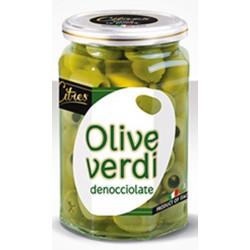 Citres olive verdi snocciolate - gr.540