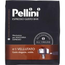 Pellini caffè Espresso Gusto Bar n°1 Vellutato 2 x 250 gr.