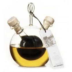 Casa Rinaldi bottiglia pirex palla olio+balsamico ml.300
