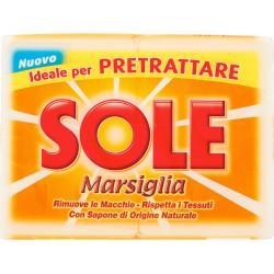 Sole sapone marsiglia - gr.250 x2