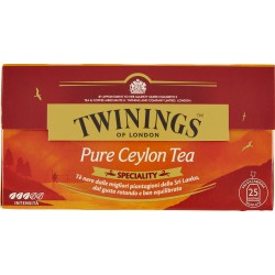 Twinings the 25 filtri pure ceylon