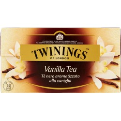 Twinings the 25 filtri vaniglia