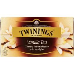 Twinings the 25 filtri vaniglia