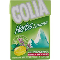 Golia Herbs limone astuccio gr.49