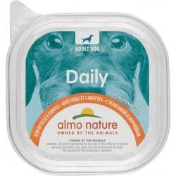 Almo daily cane vitello carote vaschetta - gr.100