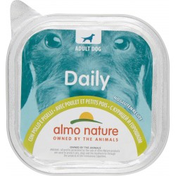 Almo nature Daily Adult Dog con Pollo e Piselli 300 gr.