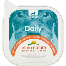 Almo nature Daily Adult Dog con Vitello e Carote 300 gr.