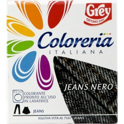 Coloreria italiana jeans nero